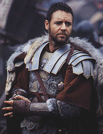 "Russell Crowe as ""General Maximus"""